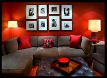 8 Inspirasi Contoh Interior Rumah Berwarna Merah