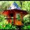 Desain Rumah Bambu Tradisional, Modern, dan Semi Permanen