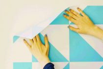 wallpaper-dari-kertas-kado