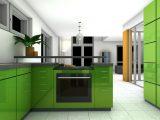 desain-dapur-warna-hijau