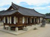 Rumah korea bergaya tradisional