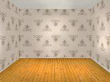 memasang-wallpaper-di-dinding-kayu